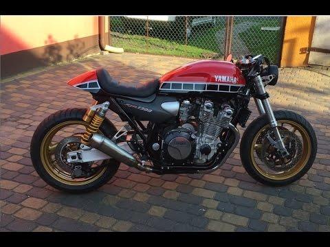 Yamaha XJR 1300 Custom Cafe Racer - YouTube