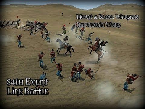 Napoleonic Wars - Line Battle #161 | 84th Mechanized & Impressive Shot 26.09.17
