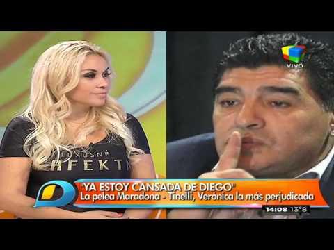 Verónica Ojeda dice ya estar cansada de Diego
