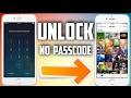 HOW TO UNLOCK ANY IPHONE WITHOUT PASSCODE | WORKING AFTER 10.3.1 (100% WORKS )