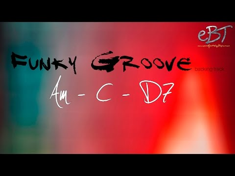 Funky Groove Backing Track in Am | 100 bpm