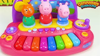 Best Toddler Learning Video Learn Colors with Peppa Pig & Pororo Musical Toys with Genevieve!