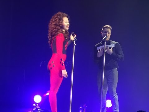 olly murs ft ella eyre - up - sheffield arena 2015