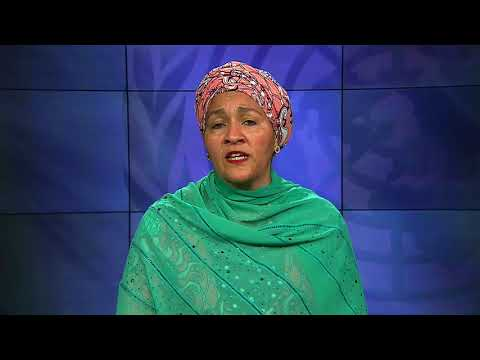 Amina Mohamed, Deputy Executive Director of the United Nations Environment Programme