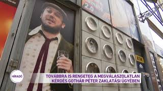 Továbbra is rengeteg a megválaszolatlan kérdés Gothár Péter zaklatási ügyében