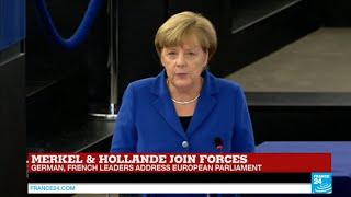 REPLAY - Watch German Chancellor Angela Merkel full address to European Parliament