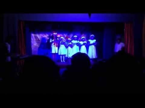 MOC Doha Sunday school evening students Christmas Carol 2014