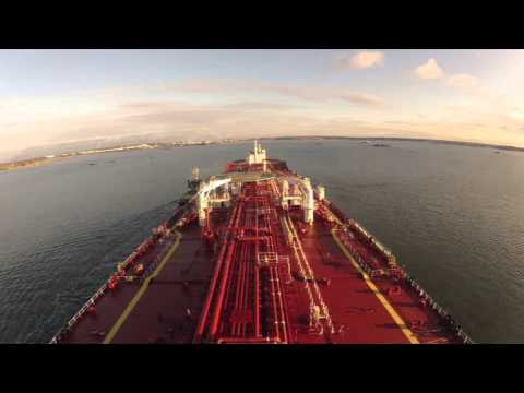Timelapse: Nansen Spirit arrival to the Port of Gothenburg
