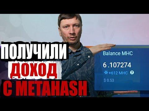 Получили профит с Metahash! Эксперимент CryptumTV в разгаре, MHC, форжинг, майнинг