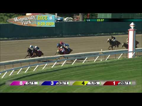 video thumbnail for MONMOUTH PARK 09-20-20 RACE 8