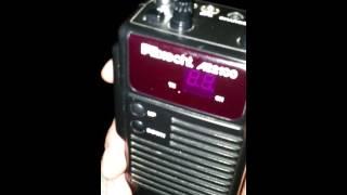 CB Funk Portable Über 20 Km Reichweite!! mit drahtantenne auf Brücke