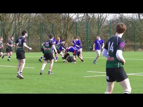 GCU Men's Rugby Vs Stirling University