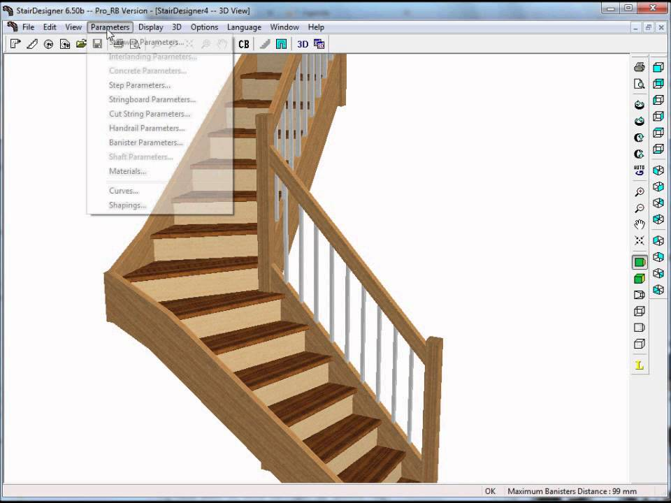 Incroyable How To Build A Stair With Stairdesigner   YouTube