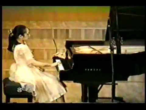 "12-year old Mei Rui playing Liszt Transcendental Etude ""Mazeppa"""