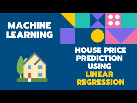 House Price Prediction using Linear Regression Machine Learning