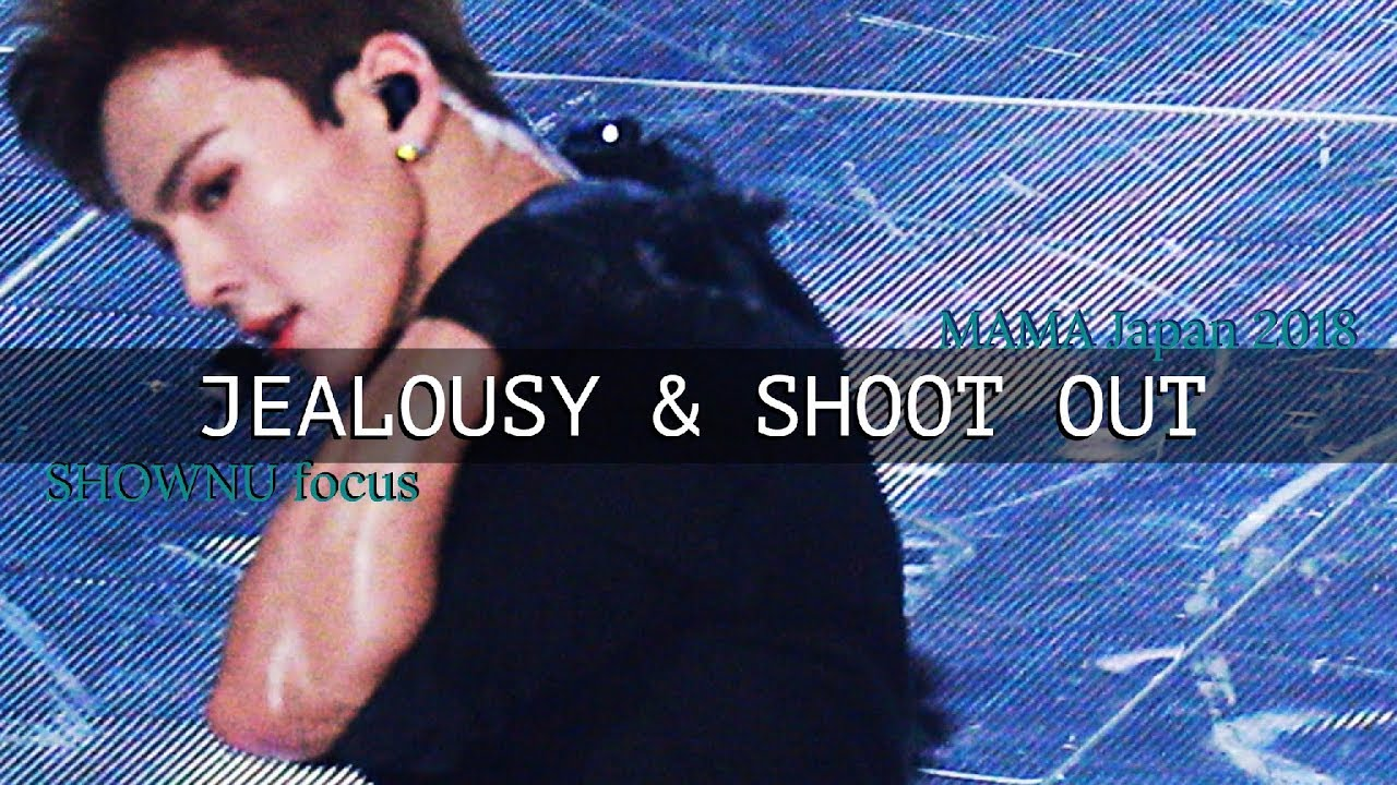 181212 MAMA Jealousy + Shoot Out - Shownu 셔누 focus
