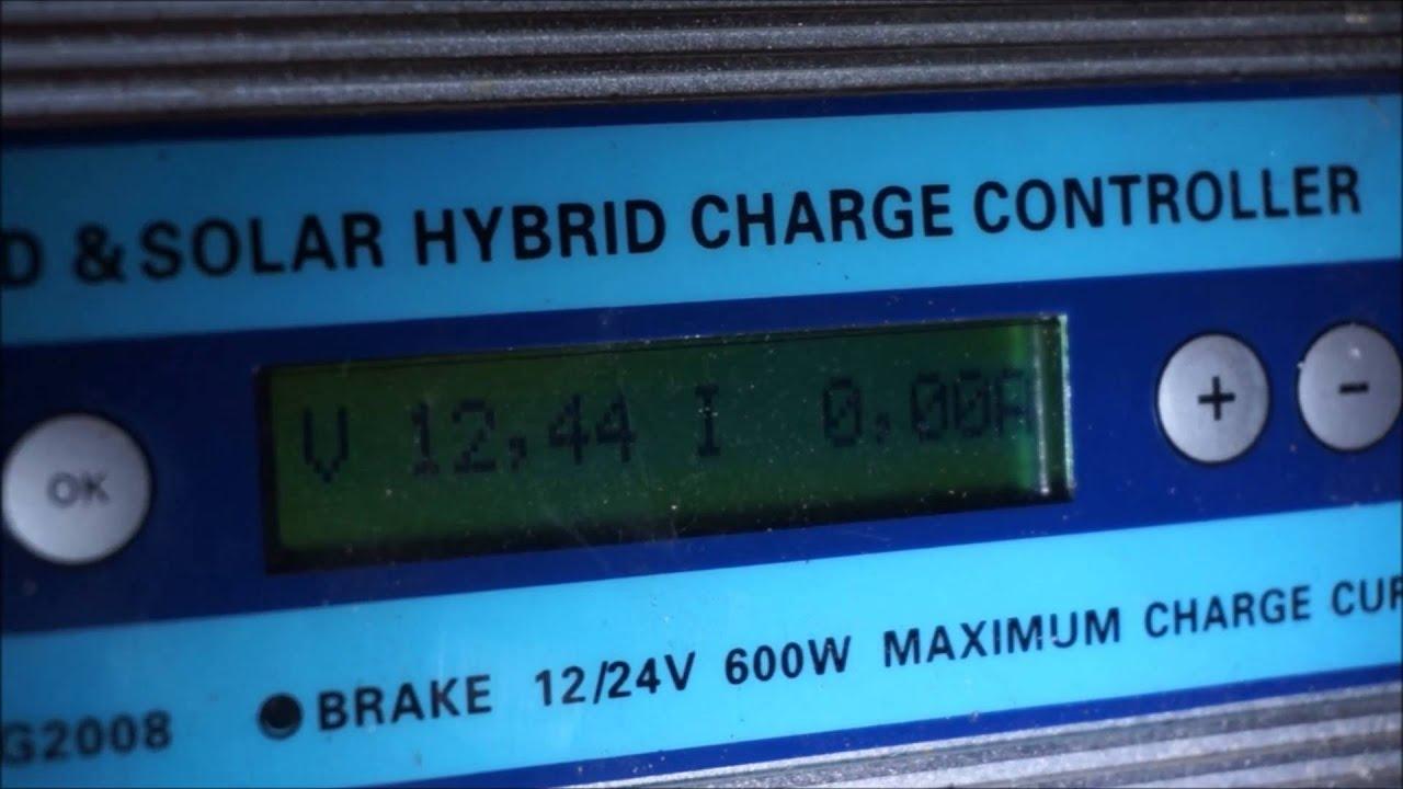Ista Breeze i-500 /Éolienne avec r/égulateur 12/V