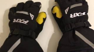 FXR Backshift glove review