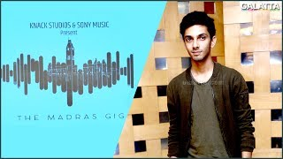 Inauguration of The Madras Gig by Anirudh