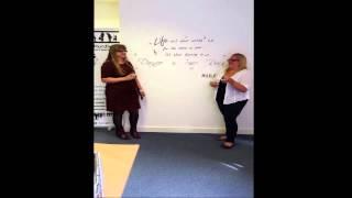 Ice Bucket - Last Hurdle Style - Tanya Shirley and Jules White