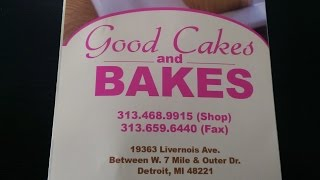 Good Cakes and Bakes of Detroit