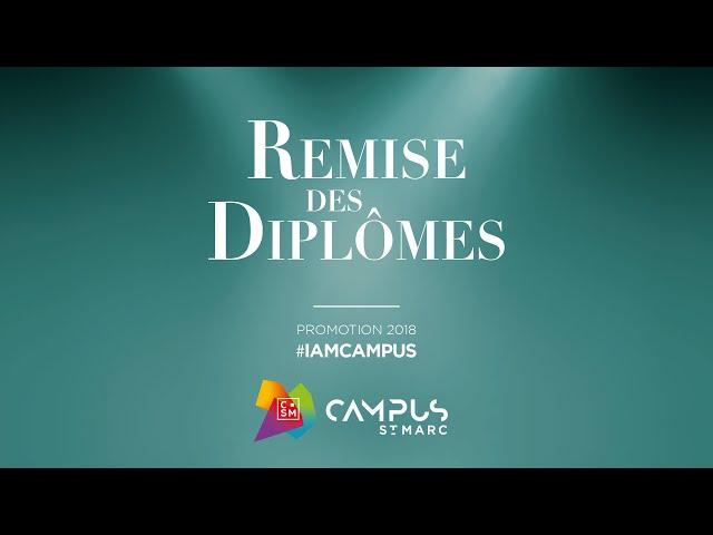 REMISE DES DIPLOMES PROMOTION 2018