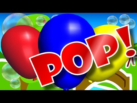 Pop balloon kids: Nổ bóng bay trẻ em
