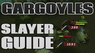 Gargoyles Guide and Loot: 4M Profit and 150k Slayer XP/Hour! [Runescape 2015]