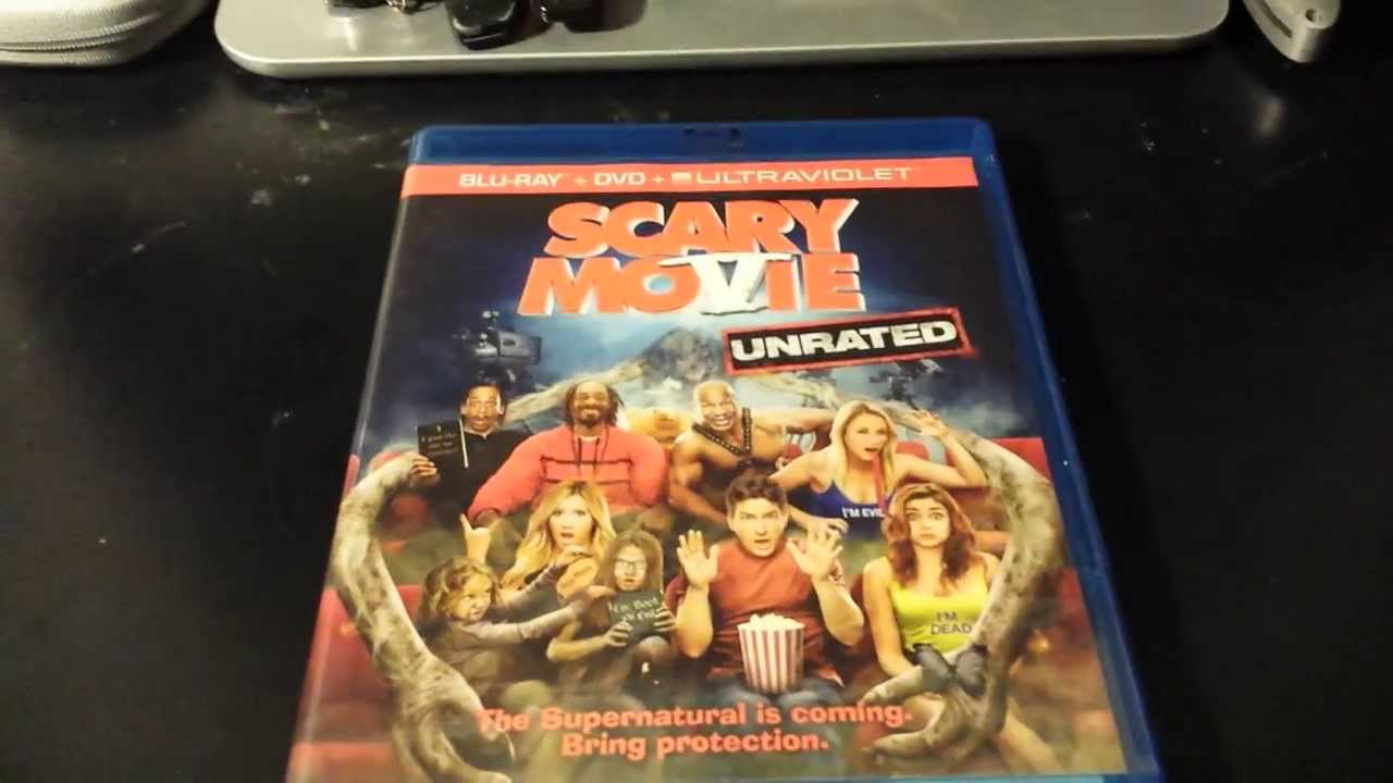 Scary Movie 5 Unboxing Bluray Dvd Ultraviolet Youtube