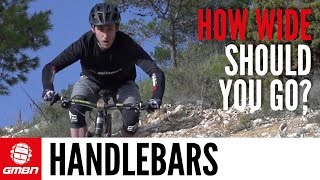 How Wide Should Your Mountain Bike Handlebars Be? GMBN's Guide To Bar Width
