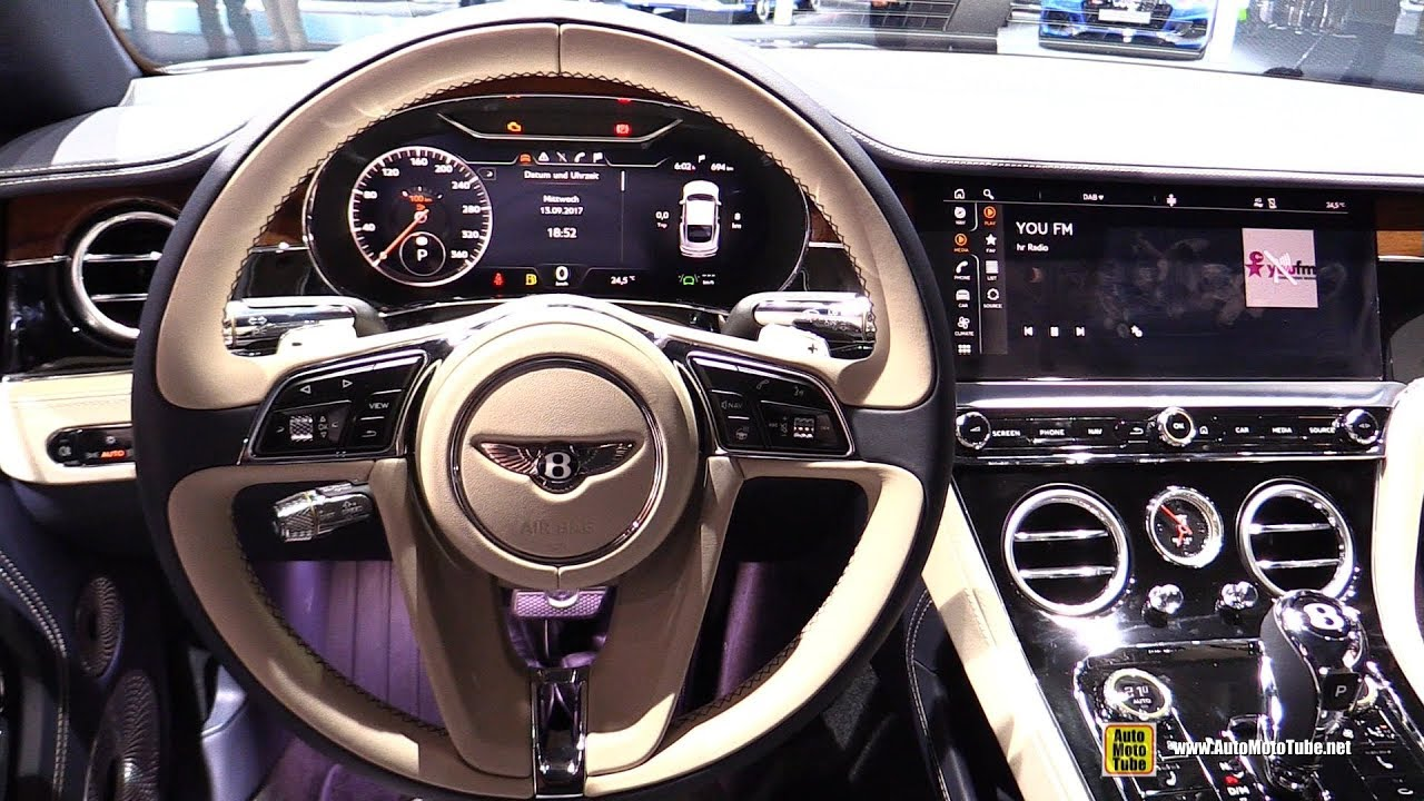 2018 Bentley Continental Gt Interior Walkaround 2017 Frankfurt Auto Show