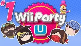 Wii Party U: The Balldozer - PART 1 - Steam Rolled