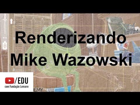 Renderizando Mike Wazowski | Pixar in a Box | Khan Academy