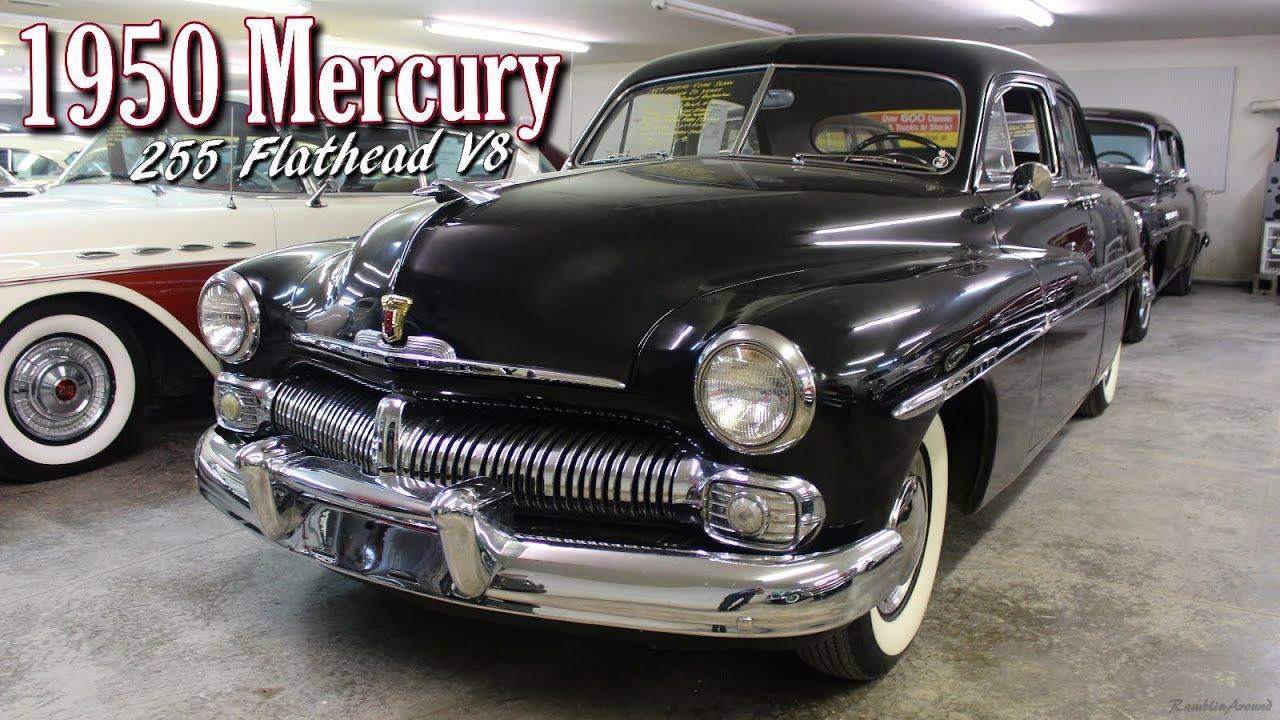 1950 Mercury 8 Sedan 255 Flathead V8 - Country Classic Cars - YouTube