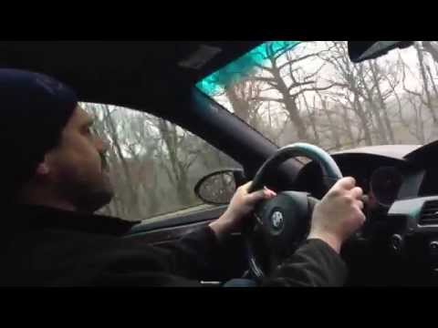 E60 BMW M5: driving from Westchester into Manhattan