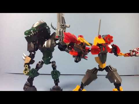 Chorus and Targus: Bionicle Mocs Review