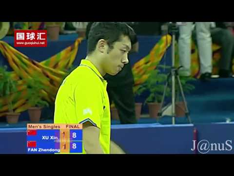 2015 Asian Cup Ms-Final: XU Xin - FAN Zhendong [FULL Match/English @720p]