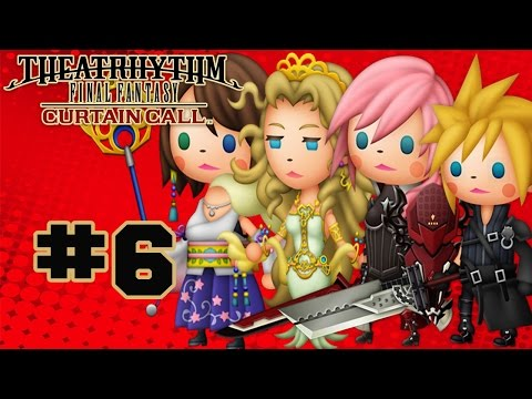 Theatrhythm Final Fantasy: Curtain Call - Walkthrough Part 6 Music Stage - Final Fantasy IV