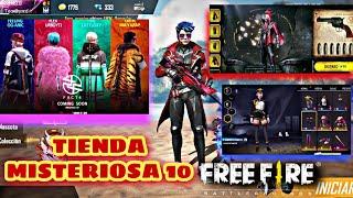 NUEVA TIENDA MISTERIOSA 10.0 PROXIMO PASE ÉLITE JULIO EVENTO WEB RULETA REVOLVER Y MAS EN FREE FIRE