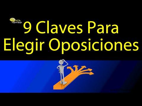 Cómo Elegir Oposiciones.  9 Claves para acertar en el Empleo Público.