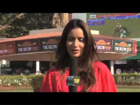 The Winning Post with all the action from the Deltin Casinos Indian 1000 Guineas