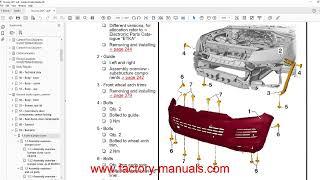 Volkswagen Touareg 2003 2004 2005 2006 2007 2008 2009 2010 service manual