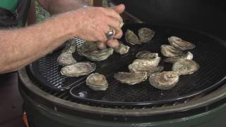 Oysters Rockefeller - Cooked on the Big Green Egg - 2017