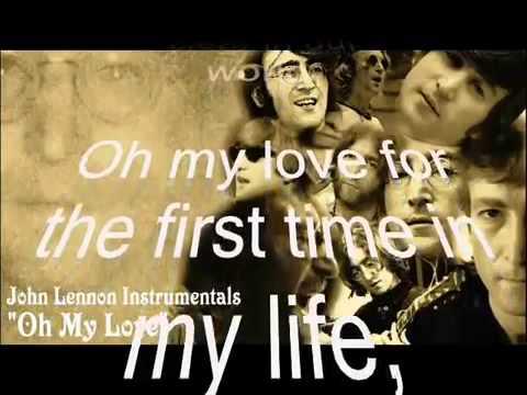 Oh My Love-John Lennon-Karaoke