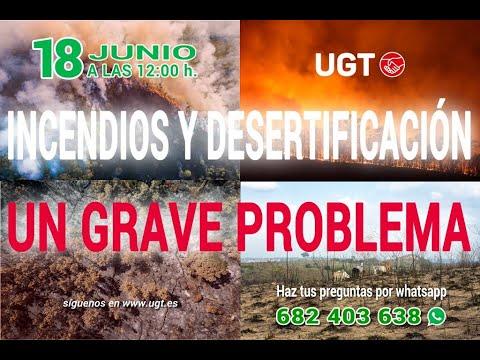 Consultorio monográfico: Incendios y desertificación, un grave problema