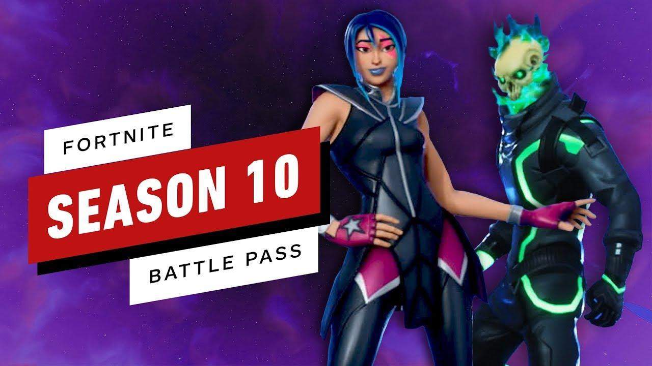 All Fortnite Season 10 Battle Pass Items (Skins, Outfits ...