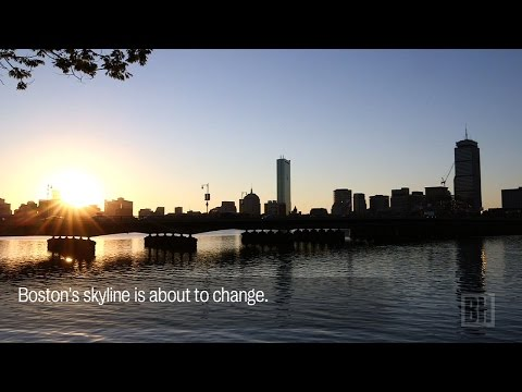 Boston's changing skyline
