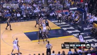 Memphis Grizzlies vs SA Spurs - 3d Quarter Highlights | Game 6 | April 27, 2017 | #NBAPlayoffs