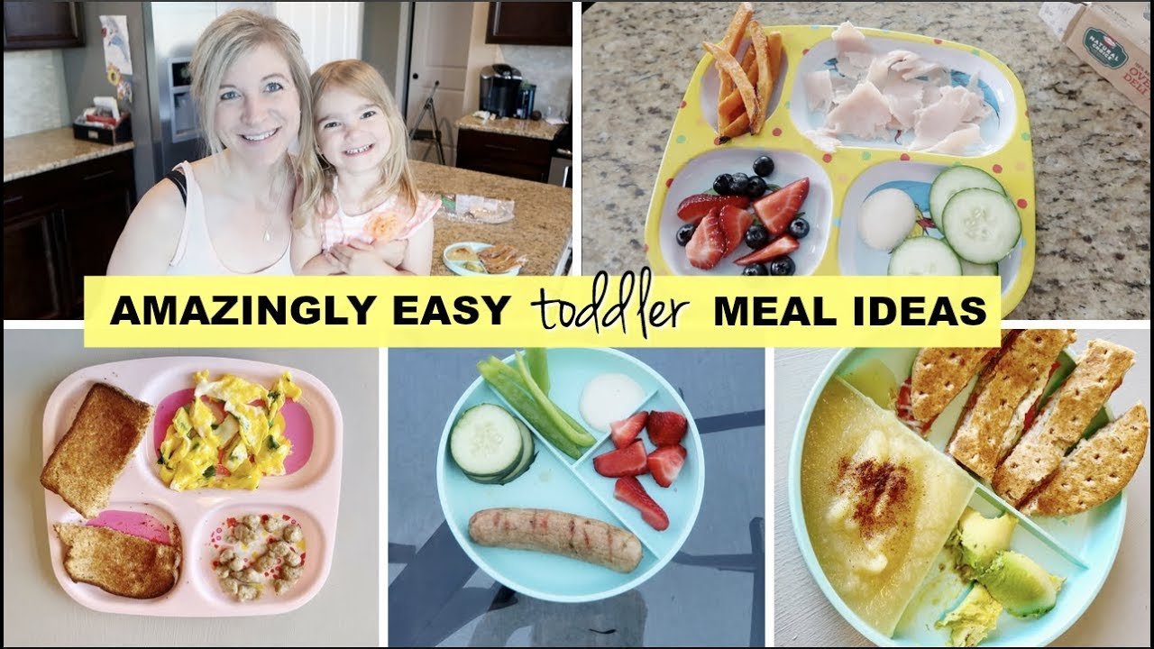 amazingly easy and quick toddler meal ideas | full week of healthy