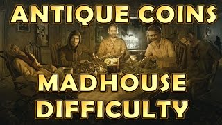 Resident Evil 7 - All Antique Coin Locations (Madhouse Difficulty) - Mad Pelicans Trophy Guide